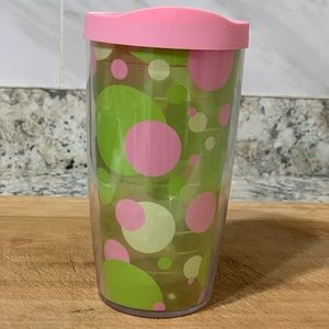 16 oz TERVIS TUMBLER WITH LID POLKA DOTS